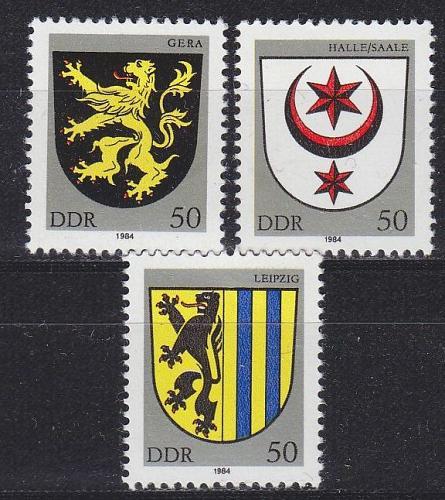 GERMANY DDR [1984] MiNr 2857 ex ( **/mnh ) Wappen