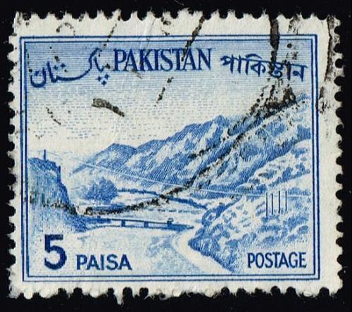 Pakistan #132b Kyber Pass; Used (2Stars)  PAK0132b-06XVA