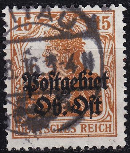 GERMANY REICH Besetzung [OberOst] MiNr 0006 ( O/used ) [01]