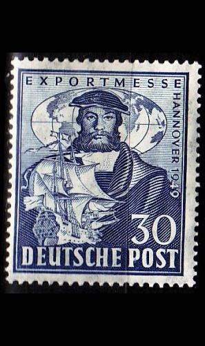 GERMANY Alliiert AmBri [1949] MiNr 0105 ( */mh )