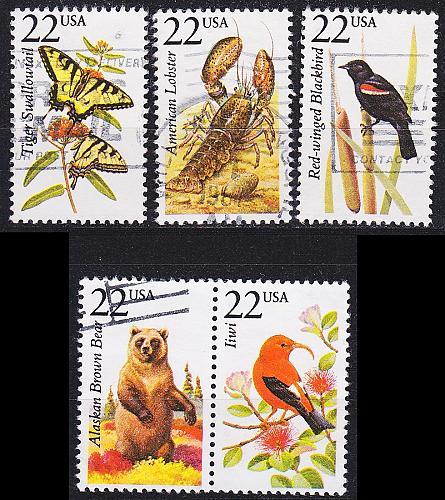 USA [1987] MiNr 1883 ex ( O/used ) [01] Tiere