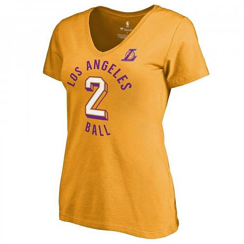 Lonzo Ball Los Angeles Lakers Fanatics Branded Women's Notable Name & Number