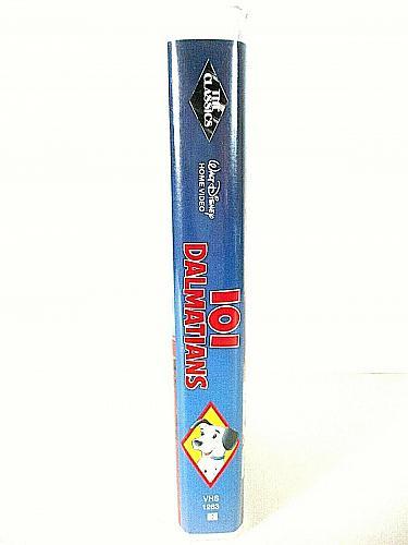 101 Dalmations VHS Disney Black Diamond Classic (#vhp)