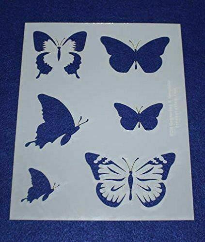 """Mylar 2 Pieces of 14 Mil 8"""" X 10"""" Spring Stencils- Painting /Crafts/ Templates"""