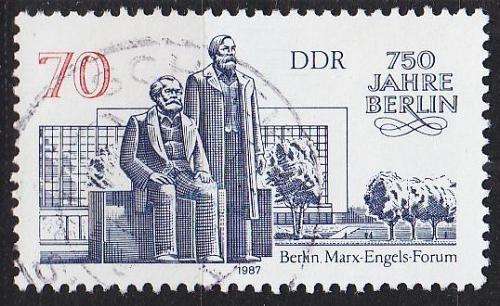 GERMANY DDR [1987] MiNr 3073 ( OO/used ) Bauwerke