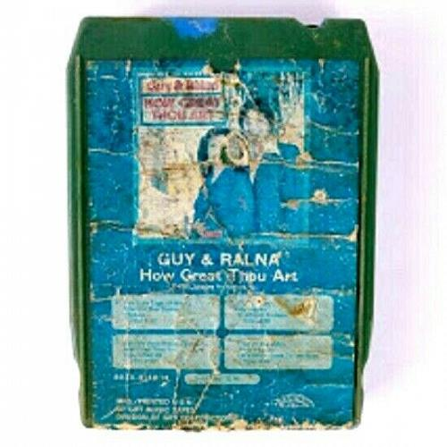 Guy & Ralna How Great Thou Art (8-Track Tape, 8058-8148 H)