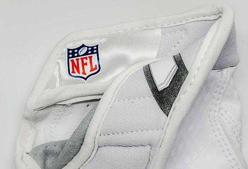 NIKE VAPOR JET 3.0 NFL ISSUED LEATHER FOOTBALL GLOVES NEW NEVER WORN LARGE