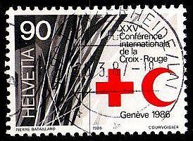 SCHWEIZ SWITZERLAND [1986] MiNr 1330 ( O/used ) Rotes Kreuz