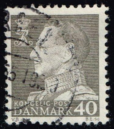 Denmark #388 King Frederik IX; Used (0.25) (3Stars)  DEN0388-07