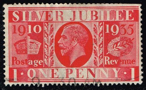 Great Britain #227 Silver Jubilee; Used (1.75) (1Stars) |GBR0227-02XRS