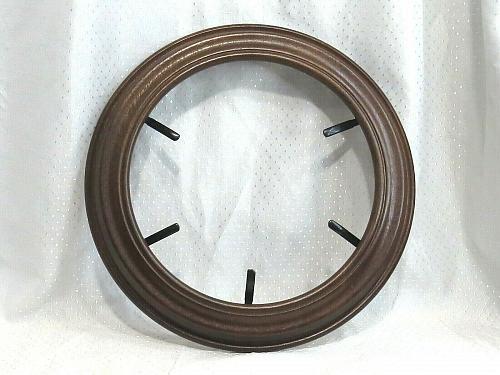 "NEW Wood Plate Frame Van Hygan & Smythe Woodridge 75-775 8.5"" Regular Walnut"