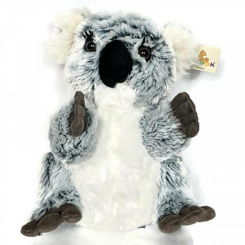 NWT Unipak Designs Gray Koala Bear Marsupial Stuffed Animal 2016 10.5""