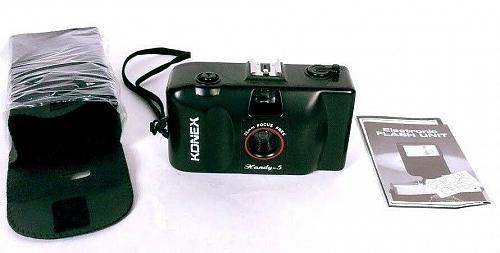 Konex Handy 5 35mm Camera with Case and User Manual Original Box