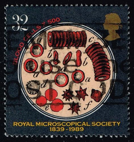 Great Britain #1287 Red Blood Cells; Used (0.95) (3Stars) |GBR1287-01XVA