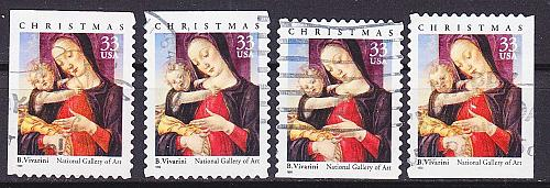 USA [1999] MiNr 3215 ( O/used ) [01] Weihnachten