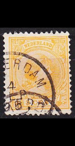 NIEDERLANDE NETHERLANDS [1894] MiNr 0034 b ( O/used )