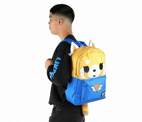 New Hello Kitty Aggretsuko Backpack Office Lady Free Shipping