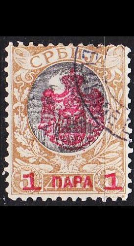 SERBIEN SERBIA [1903] MiNr 0072 ( O/used )