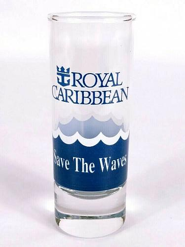 """Royal Caribbean Cruise Line Save The Waves 4"""" Collectible Shooter Shot Glass"""