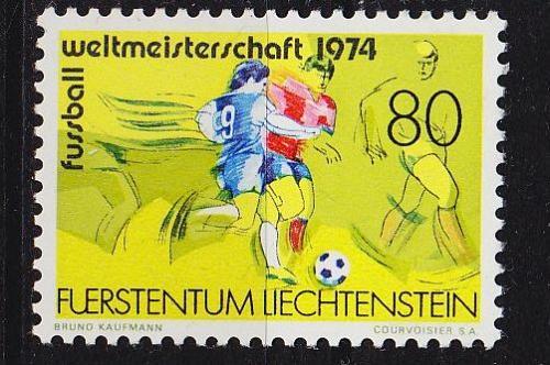 LIECHTENSTEIN [1974] MiNr 0606 ( **/mnh ) Sport