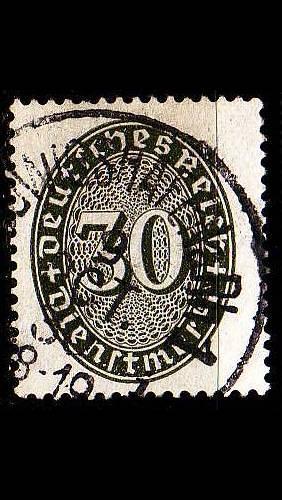 GERMANY REICH Dienst [1927] MiNr 0120 ( O/used )