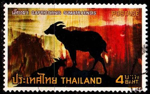THAILAND [1973] MiNr 0705 ( O/used ) Tiere