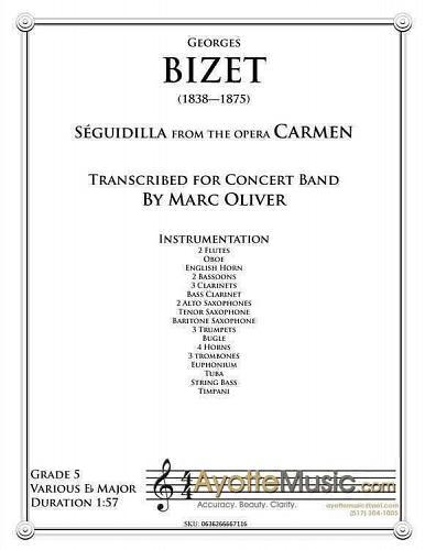 Bizet - Sequidilla from Carmen