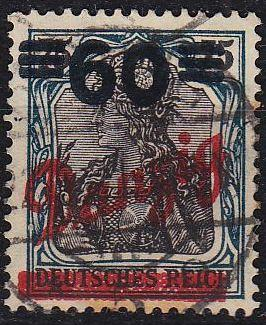 GERMANY REICH Danzig [1921] MiNr 0072 ( OO/used ) [02]