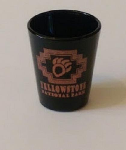 """Yellowstone National Park 2.25"""" Collectible Shot Glass (3-3)"""