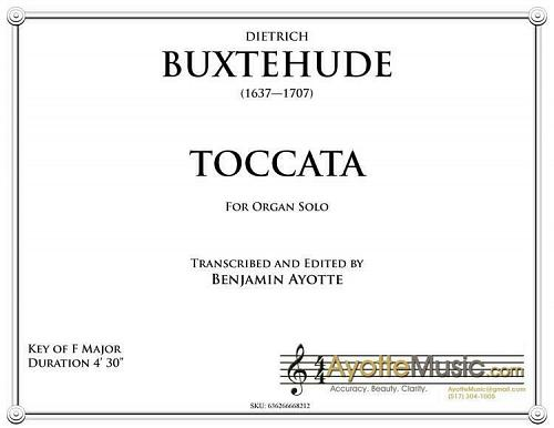 Buxtehude - Buxtehude Toccata 21 in F