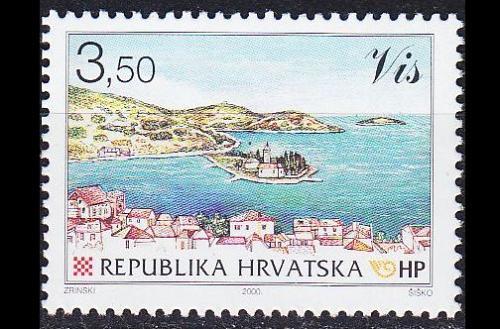 KROATIEN CROATIA [2000] MiNr 0555 ( **/mnh ) Landschaft