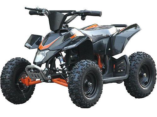 Four Wheeler Kids Black Mini ATV Dirt Bike Electric Battery Boys Girls 24V New