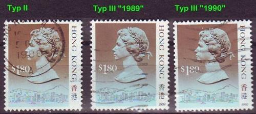 HONGKONG HONG KONG [1988] MiNr 0549 ( O/used ) [02] div Typen, sehr schön