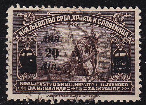 JUGOSLAVIA [1922] MiNr 0167 I ( O/used )