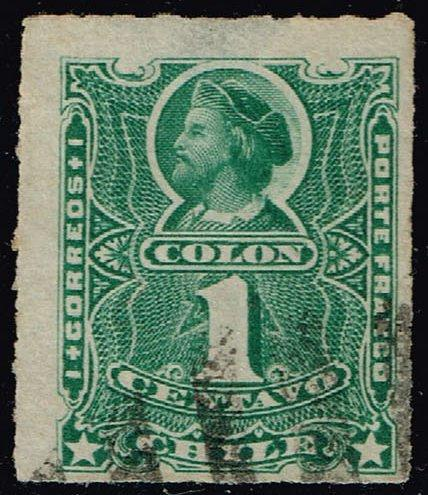 Chile **U-Pick** Stamp Stop Box #155 Item 36  USS155-36