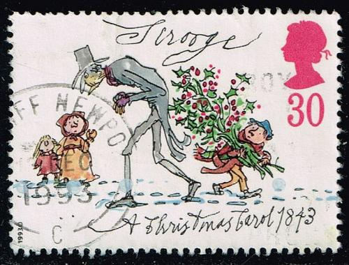 Great Britain #1530 Scrooge; Used (0.85) (3Stars) |GBR1530-04XVA