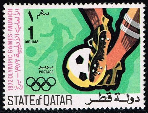 Qatar #303 Soccer; Unused (0.80) (2Stars)  QAT0303-01XVA