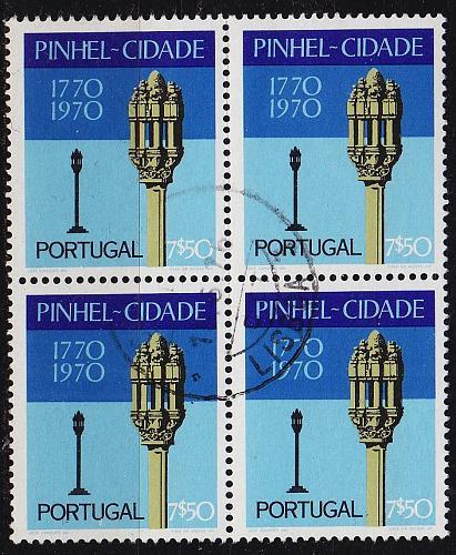 PORTUGAL [1972] MiNr 1162 4er ( O/used ) [01]