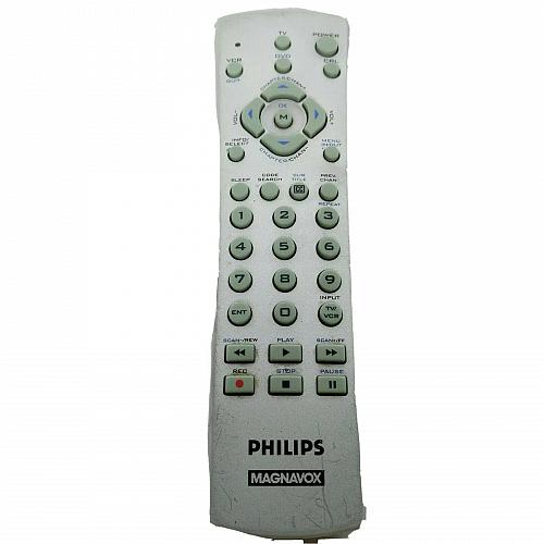 Genuine Philips Magnavox Universal TV VCR Remote Control CL015 Tested Works