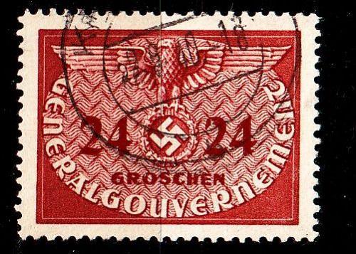 GERMANY REICH GenGouv [Dienst] MiNr 0006 ( O/used )