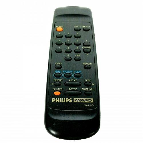 Genuine Philips Magnavox TV VCR Remote Control N9173UD Tested Works