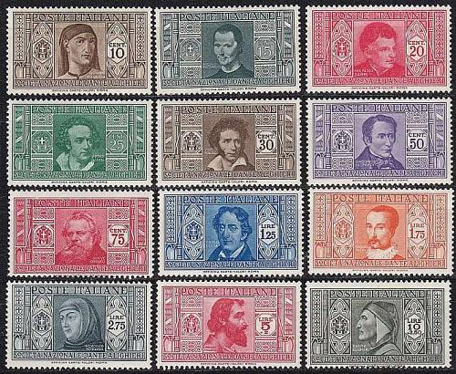 ITALIEN ITALY [1932] MiNr 0373-84 ( **/mnh )
