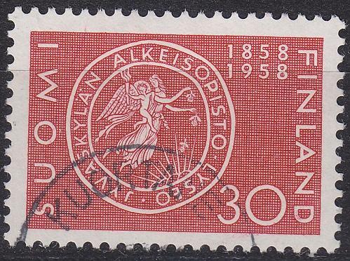 FINLAND SOUMI [1958] MiNr 0497 ( O/used )