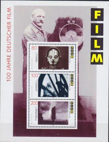 GERMANY BUND [1995] MiNr 1815-17 Block 33 ( **/mnh )