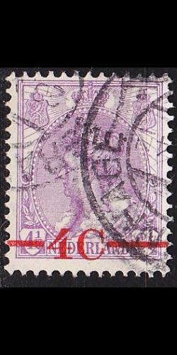 NIEDERLANDE NETHERLANDS [1921] MiNr 0101 ( O/used )