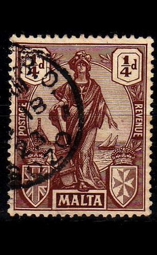 MALTA [1922] MiNr 0082 ( O/used )