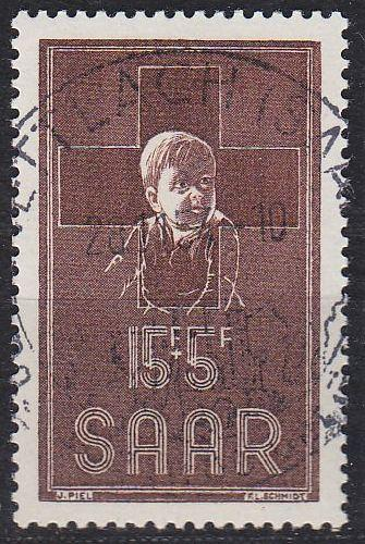 GERMANY Saar [1954] MiNr 0350 ( O/used )