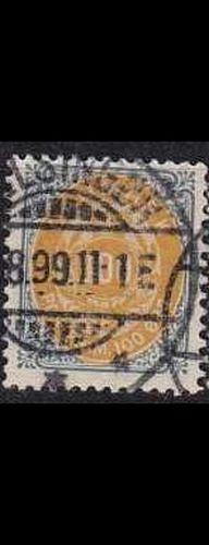 DÄNEMARK DANMARK [1875] MiNr 0031 I Y B ( O/used )
