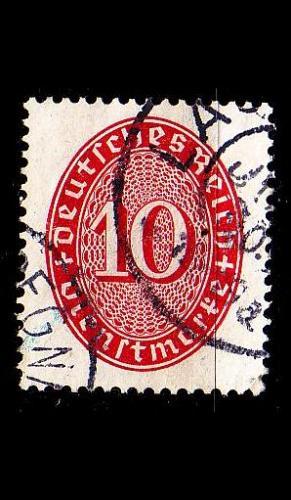 GERMANY REICH Dienst [1927] MiNr 0117 ( O/used )