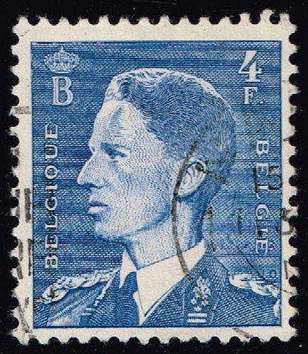 Belgium #448 King Baudouin; Used (0.25) (3Stars) |BEL0448-02XRS